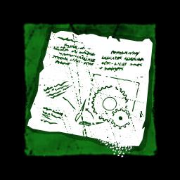 ジグソウの注釈付き設計図