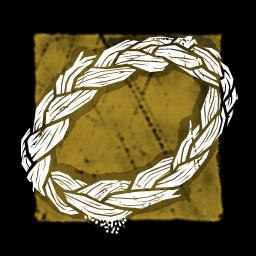 ドジョウツナギの編み紐