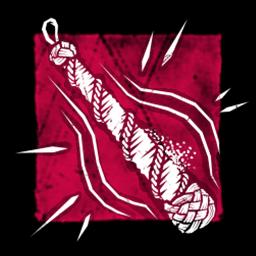 縄が結われた鐘の舌