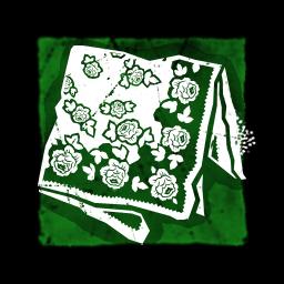 花のバブーシュカ