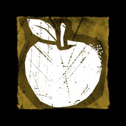 祝福のりんご
